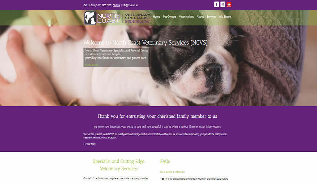 North Coast Veterinary Services – AsiaWeb – making