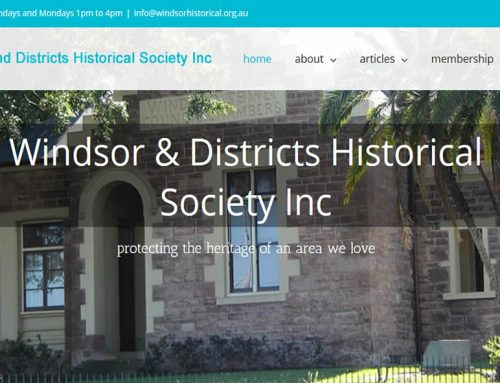 Windsor and Districts Historical Ssociety